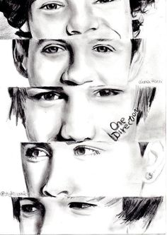 One Direction Tumblr Drawing Easy Amazing!