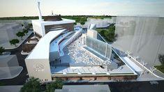 Mosque Architecture, Ancient Greek Architecture, Concept Architecture, Gothic Architecture, Central Mosque, Grand Mosque, Environmental Design, London City, Modern House Design