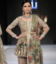 Beautiful pakistani pastel dress