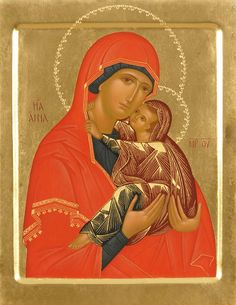 Holy Righteous Anne - Icons from the Workshop of St. Elisabeth Convent…