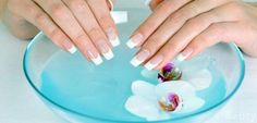 Homemade bath for nails — strengthen nails at home      The contents Baths with iodine for nails Salt baths for nails Oil baths for nails In nail care, improving their structure and accelerating growth one of the main roles is given to the trays. These simple and, at