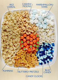 With just a few ingredients you can make a fun Cinderella - themed snack mix – perfect for a Cinderella viewing party!