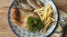 Fazant op zijn Brabants met witloof en fijne frietjes