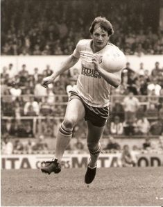 Mick Channon of Norwich City in Southampton Football, Retro Football, 1980s, Hipster, City, Style, Swag, Hipsters, Cities