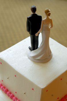 funny wedding topper