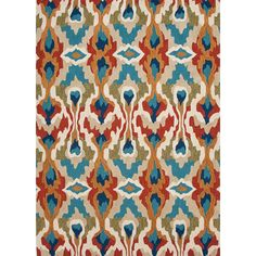 Jaipur Rugs Brio Blue Tribal Rug