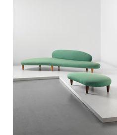 The Cloud Sofa by Isamu Noguchi, designed by Isamu Noguchi for Herman Miller. Courtesy of Phillips.