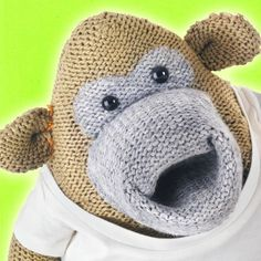 Knitting Pattern For Pg Tips Monkey : Referee Monkey Monkey/Knitted Character Pinterest Monkey