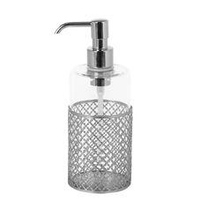 Discover+the+Villari+Firenze+Soap+Dispenser+-+Chrome+at+Amara