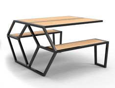 Arrow Table and Bench by Christopher Duffy 11 Arrow Table and Bench by Christopher Duffy