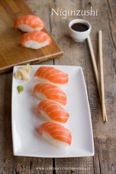 Nigiri sushi homemade,la ricetta per fare i nigiri al salmone