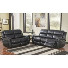 Sam's Club - Maxwell Power-Reclining Sofa and Loveseat