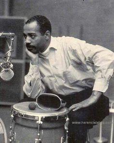 The great Willie Bobo Norwalk California, Salsa Music, Afro Cuban, Cool Jazz, Black Is Beautiful, Simply Beautiful, Jazz Musicians, Drum Kits, Rare Photos