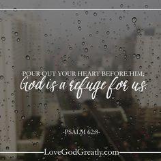 Living for God: God Is Our Refuge