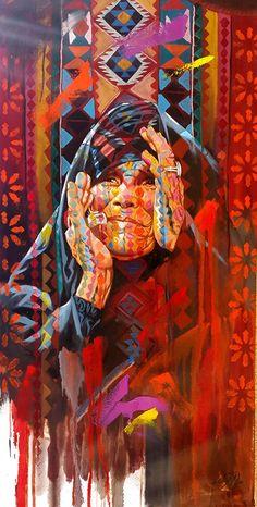 wonderful painting by ALI NEMAH