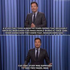 #funny #fallontonight #mariguana