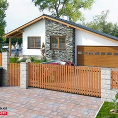 Dřevěný plot - Pinie Teak, Shed, Home And Garden, Outdoor Structures, Outdoor Decor, Home Decor, Fence Ideas, Gardening, Pine Tree
