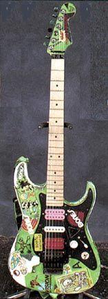 """Steve Vai's """"Green Meanie"""""""