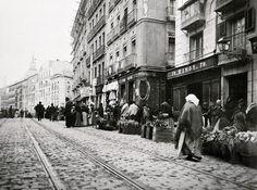 Calle de Toledo. Taberna esquina ala calle de la  Ruda a principios del S-XX