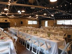 Refined Rustic Wedding Reception At The Fish Hatchery At