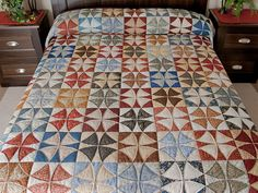 Winding Ways Quilt -- terrific adeptly made Amish Quilts from Lancaster (hs6515)