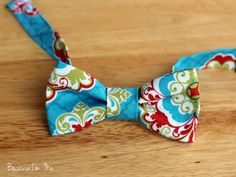 Boys Bow Tie  Handsome Moroccan and floral print on by becauseimme, $15.00, also available for men and as a necktie
