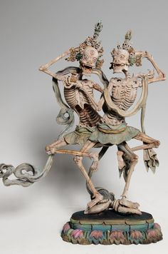 Tibetan Buddhism, Buddhist Art, Tibet Art, Skeleton Art, Motorcycle Art, Paganism, Western Art, Ancient Art, Aesthetic Art