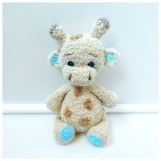 Toys For Girls, Gifts For Girls, Kids Toys, Crochet Gifts, Crochet Toys, Cow Toys, How To Cat, Cat Steps, Knitted Animals
