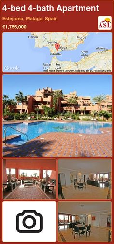 Apartment for Sale in New Golden Mile, Estepona, Malaga, Spain with 4 bedrooms, 4 bathrooms - A Spanish Life Outdoor Swimming Pool, Swimming Pools, Malaga Spain, Home Automation System, Spacious Living Room, Double Bedroom, Murcia, Apartments For Sale, Seville