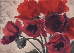 Emil Nolde, Oriental Poppies.   http://www.thecityreview.com/s00imps2.htm