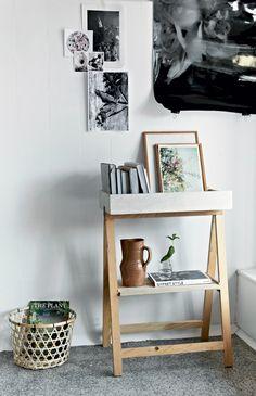 DIY Mini Bookcase | from boligliv, tutorial in Danish