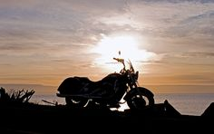Whidbey Island's beautiful sunset is the finale of a perfect riding day in Washington. This route was featured in the January 2014 issue of Rider magazine.