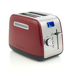 KitchenAid® Red 2-Slice Toaster