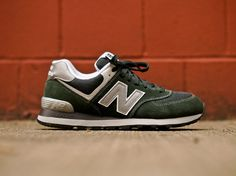 New Balance 574 Green   The Style Dealer
