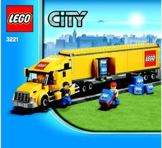 City - Delivery Truck [Lego 3221]