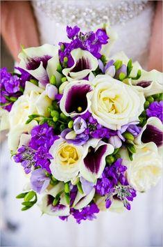 Regal wedding in royal purple! #weddingchicks Captured By: Dana Cubbage Weddings http://www.weddingchicks.com/2014/07/25/regal-wedding-in-royal-purple/