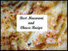 For an easy, delicious, weeknight, dinner, try this macaroni and cheese recipe from www.sweetfrivolity.com.