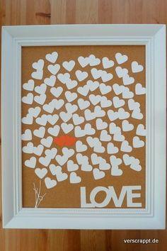 Gästebuch-Alternativ-Alternative-Hochzeit-wedding-Guestbook-individuell-Herzen-Love-hearts-Bilderrahmen-gäste-Übersicht