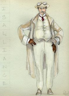 Misalliance (Mr. Tarleton). American Players Theatre. Costume design by Rachel Anne Healy.