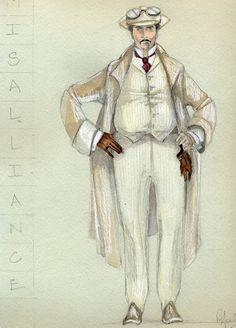 Misalliance (Mr. Tarleton). American Players Theatre. Costume design by Rachel Anne Healy.