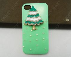 NEW iphone 5 case Christmas tree case iPhone cover by dnnayding, $19.99