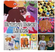 Come check out tons of fun Brown Bear, Brown Bear activities & ideas to start your year! #backtoschool #brownbear #tpt