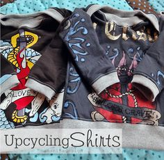 [happy baby] - coole Pullis aus Papa´s alten T-Shirts
