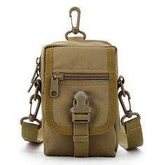 Men Tactical Bag Military Shoulder Bag Outdoor Sport Phone Bag #tacticalbag