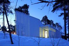 casagrande laboratory: apelle house, finland