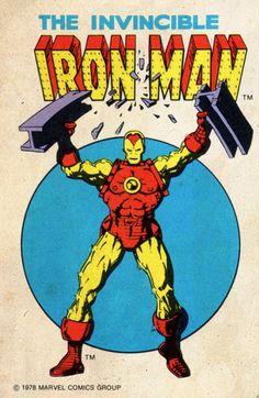 The Invincible Iron Man - Tony Stark - 1978 Marvel Comic Book Characters, Marvel Characters, Comic Character, Comic Books Art, Marvel Comics Superheroes, Marvel Dc Comics, Marvel Heroes, Hawkeye Marvel, Marvel Logo