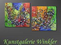 2tlg120x60 Abstrakte Gemälde Acrylbilder Unikat    http://de.dawanda.com/shop/A-Winkler