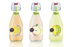 包装设计——果汁Raw Juice Bottle