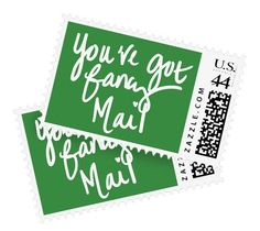 You've Got (fancy) Mail Stamps by Ashley Brooke.