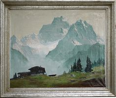 ARNOLD GRABONE' , Alba sul Monte Pelmo, sunrise at Mount Pelmo (Dolomites),  Восход на горе Пельмо (Доломиты)